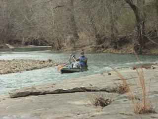 Late Winter Float Trip Along The Buffalo River National River